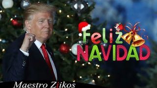 Donald Trump Sings Feliz Navidad