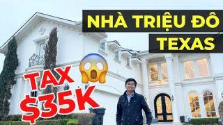 Nhà triệu đô ở Texas - Đóng thuế một năm bao nhiêu? - Vuong101