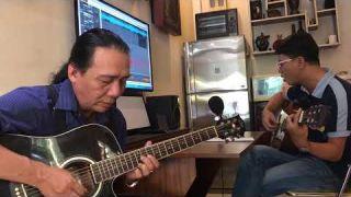 Tôi Đưa Em Sang Sông ( Song tấu Guitar )  Y Vũ  _  Nhật Ngân