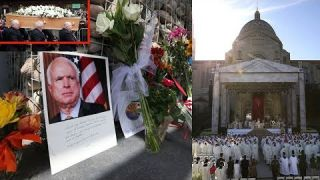 Dòng Người Đỗ Về Nhà Thờ Quốc Gia Washington Vĩnh Biệt Thượng Nghị sĩ John McCain -Tin 24h