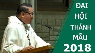 LM Mathew Nguyễn Khắc Hy 2018 - Giảng lễ Khai Mạc Đại Hội Thánh Mẫu Missouri 2018 tại Hoa Kỳ