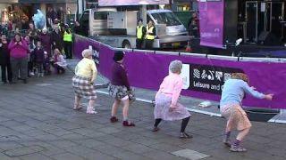 """The Dancing Grannies"" strut their stuff in Stafford"
