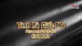 TÌNH LÀ GIẤC MƠ - Koibito Yo (恋人よ) (Nhạc Nhật, Lời Nhật Ngân) - Khánh Hà