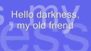 The Sound Of Silence Paul Simons and Garfunkel 1964 LYRICS