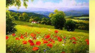 Gerhard Nesvadba. Magic of paint