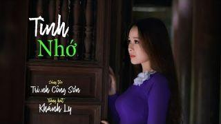 Tình Nhớ [Trịnh Công Sơn] Khánh Ly (4K)