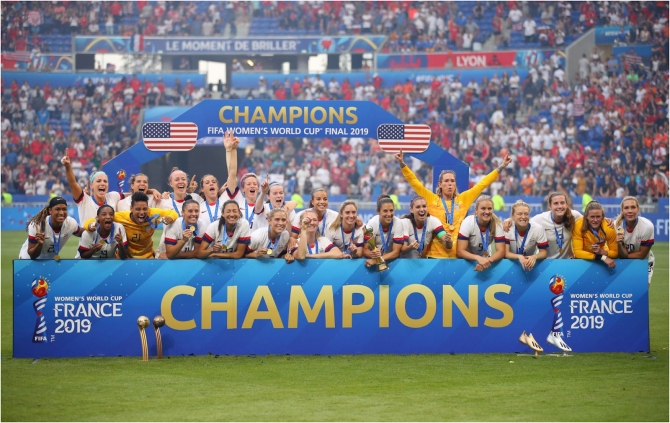 Women's World Cup 2019: Đội tuyển nữ Hoa Kỳ lần thứ tư Vô Địch Thế Giới