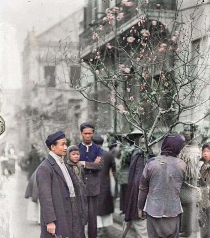 Bộ ảnh Tết cổ truyền năm 1920