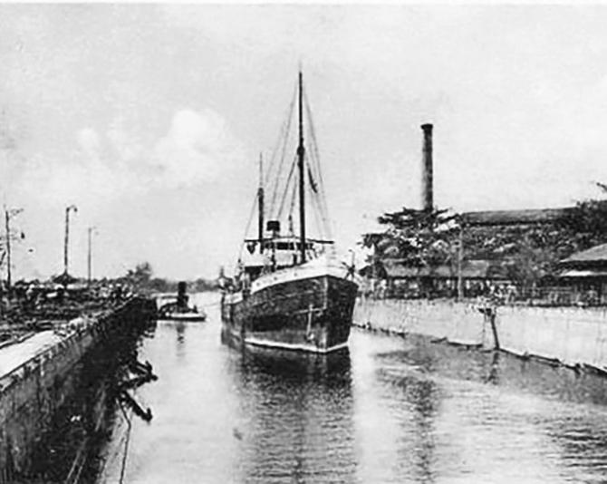Sài Gòn xưa: Xưởng đóng tàu Bason