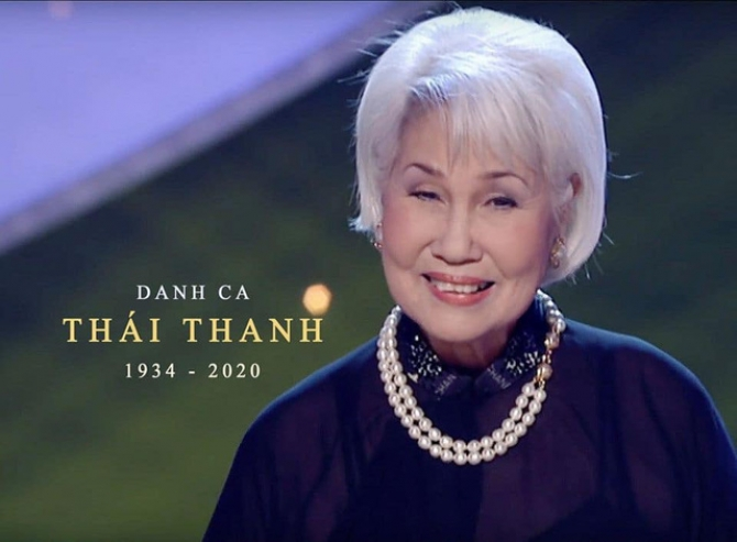 Tiếng hát Thái Thanh đã Nghìn Trùng Xa Cách (1934-2020)