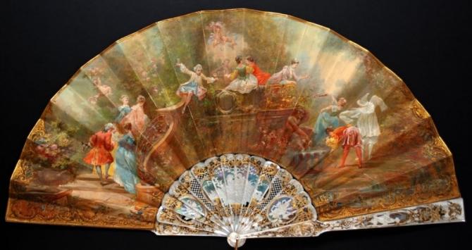 Quạt châu Âu thế kỷ 18-19: Những tuyệt phẩm