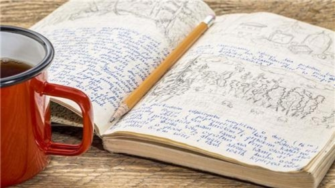 Niềm vui bất ngờ khi viết nhật ký
