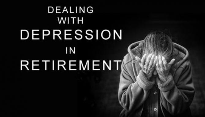 Nghỉ hưu rất dễ bị trầm cảm?