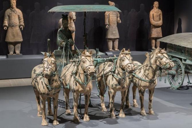 Nghệ thuật Trung Hoa qua Triều đại Tần – Hán