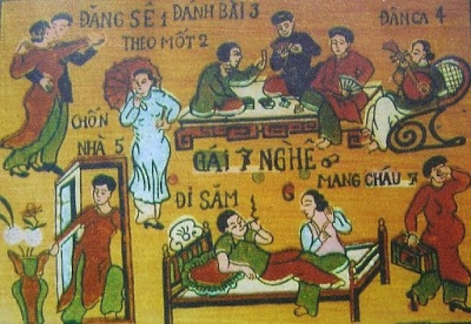 Tám nhảm về 'Tứ Khoái' của người Việt