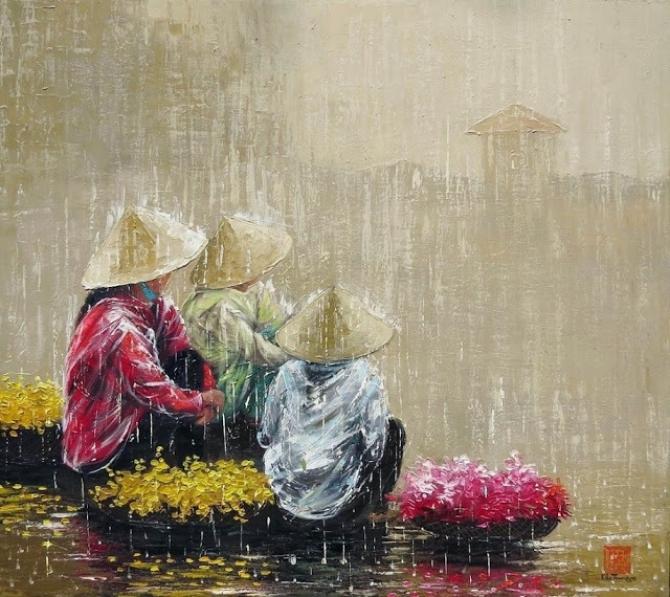 Con người VN đẹp và chân thực của hoạ sỹ Kha Trung