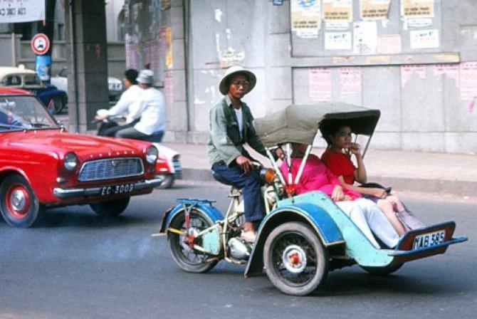 Nhớ xích lô máy Sài Gòn xưa