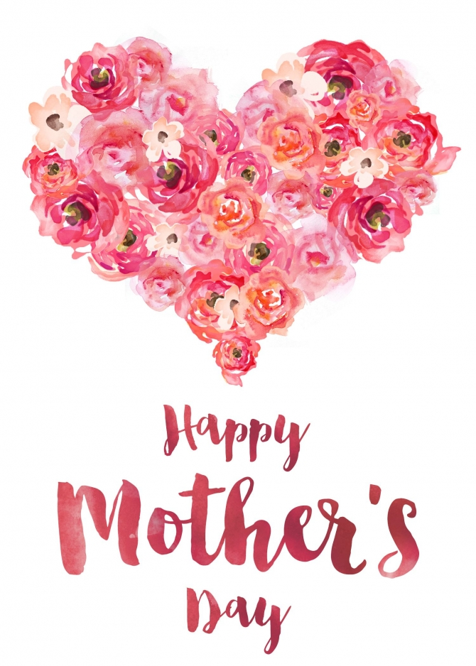 Happy Mother's Day- Trái tim của Mẹ