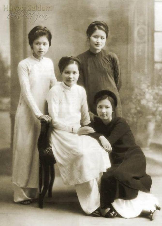 Bộ ảnh hiếm về người Việt Nam 100 năm trước