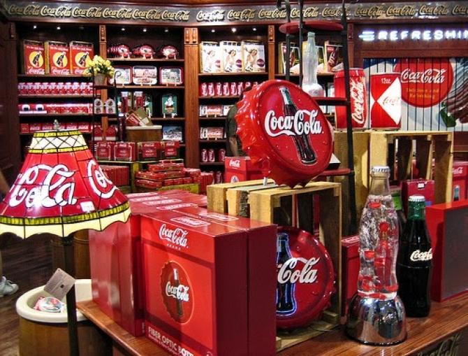 Coca Cola thế giới ngọt ngào