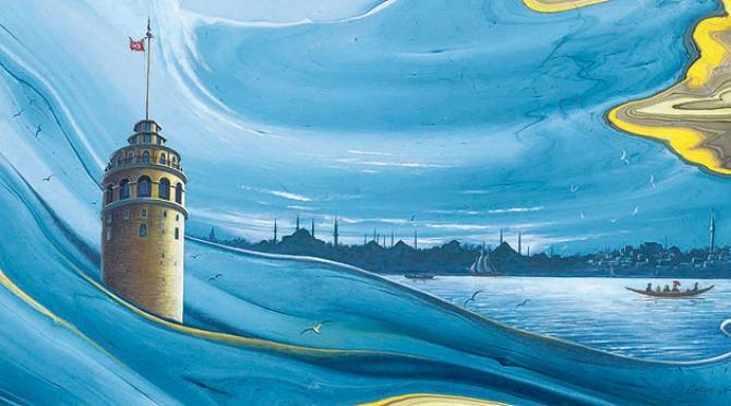 Những tác phẩm tranh màu nước của Garip Ay