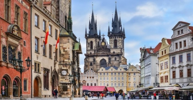 Những thành phố được chụp ảnh nhiều nhất ở châu Âu