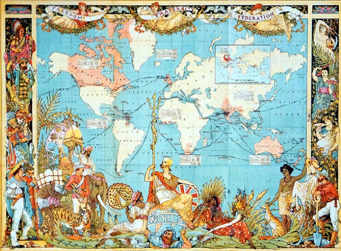 5 đế chế hùng mạnh nhất trong lịch sử nhân loại