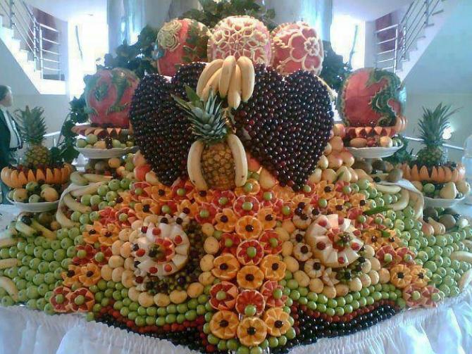 Nghệ thuật Trình bày trái cây