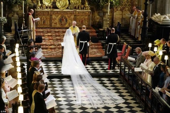 'đám cưới cổ tích' của Hoàng tử Harry và hôn thê Markle