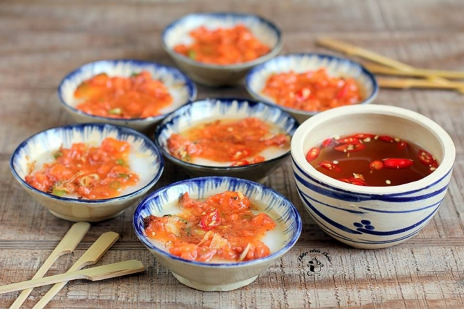 Nuốt nước miếng với món Bánh bèo xứ Quảng