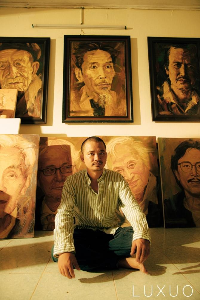 Chân dung văn nghệ sĩ Việt qua họa sĩ trẻ Trần Thế Vĩnh