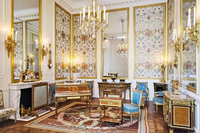 Nghệ thuật trang trí nội thất của Pháp từ thời vua Louis XIV đến Louis XVI