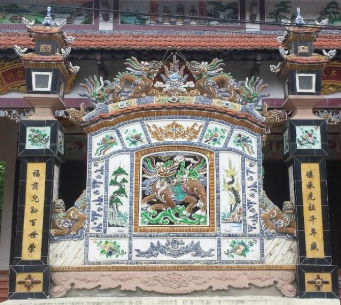 Bình phong – Nét kiến trúc độc đáo trong đời sống văn hóa Huế