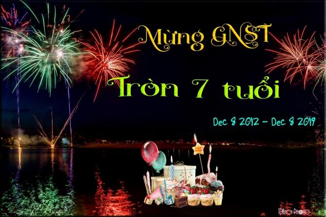 MỪNG KỶ NIỆM 7 NĂM THÀNH LẬP GÓC NHỎ SÂN TRƯỜNG ( DECEMBER 08, 2012 - 2019 )