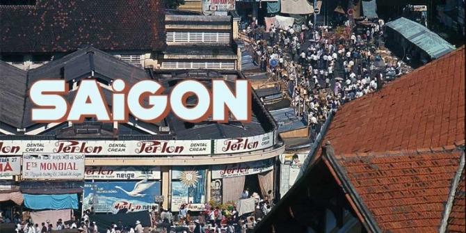 Những tấm ảnh màu đẹp nhất của đường phố Saigon trước 1975