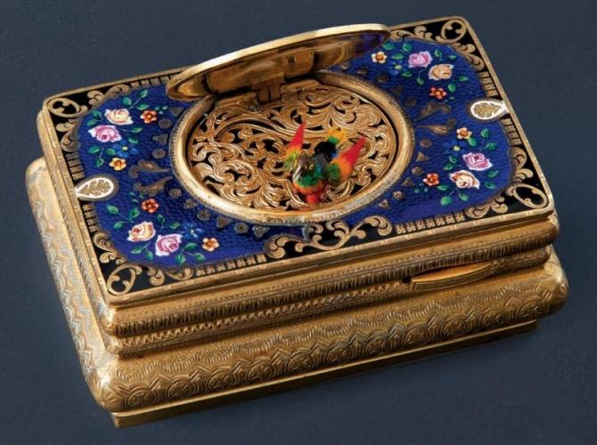 Chiếc hộp âm nhạc- Music Box