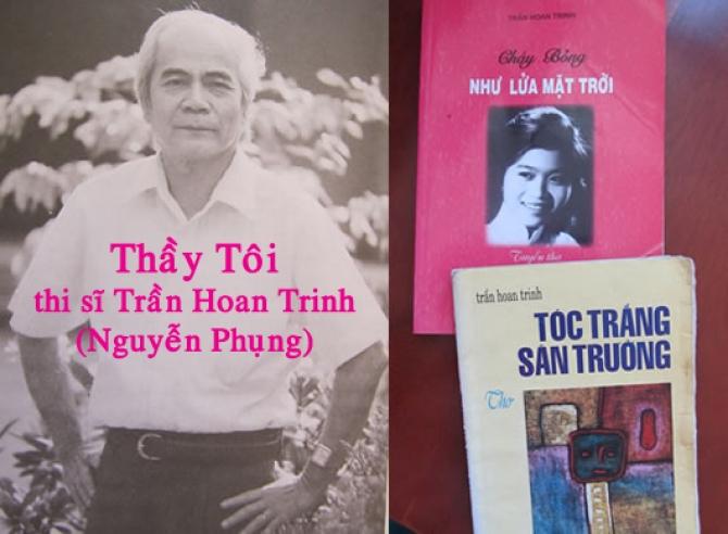 Người Thầy Dạy Toán Làm Thơ, Thi sĩ Trần Hoan Trinh