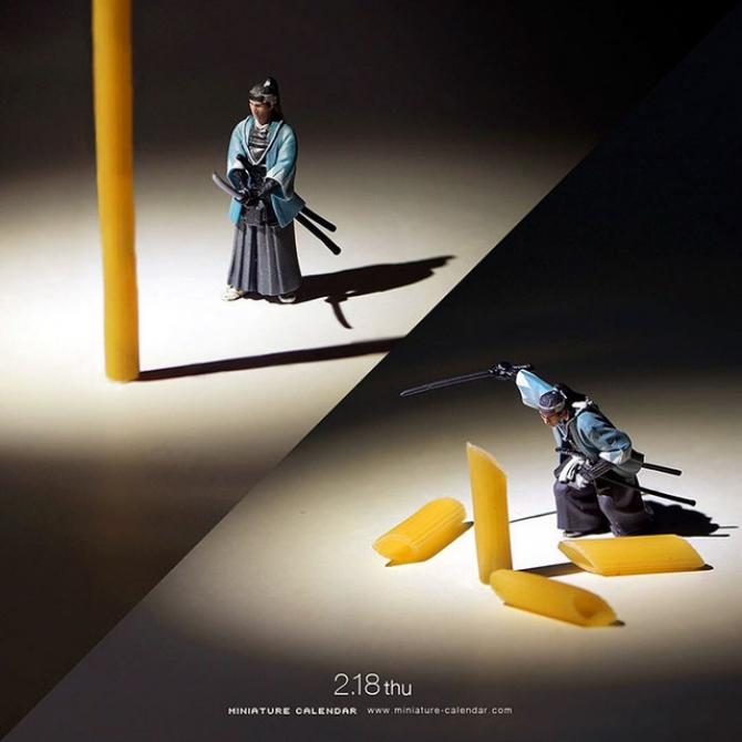 Bộ ảnh lịch năm mới của Tatsuya Tanaka