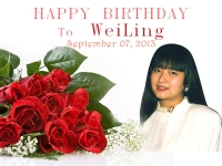 Happy Birthday WeiLing