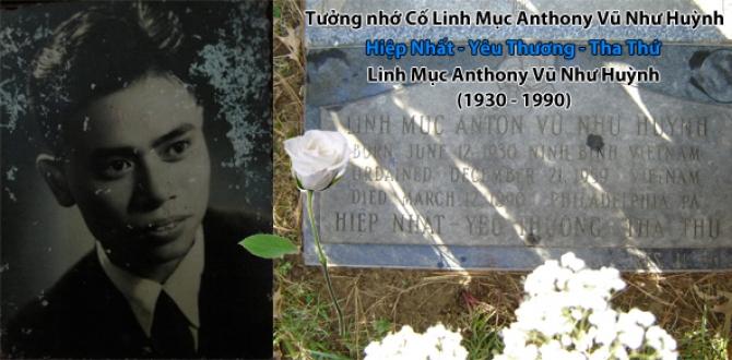 Tưởng nhớ Cha Antôn Vũ Như Huỳnh