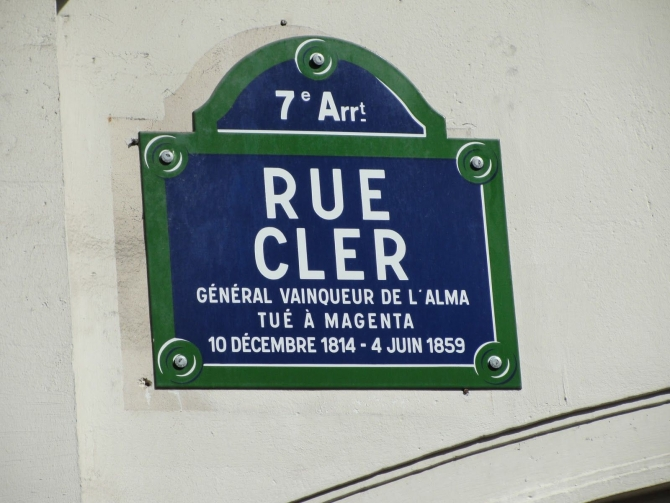 RUE CLER - Để Nhớ Một Thời