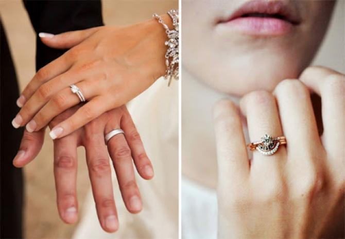 Bạn có biết vì sao nhẫn cưới được đeo ở ngón áp út không?
