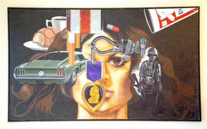 Một nghệ sĩ được tái sinh từ vết thương của chiến tranh Việt Nam