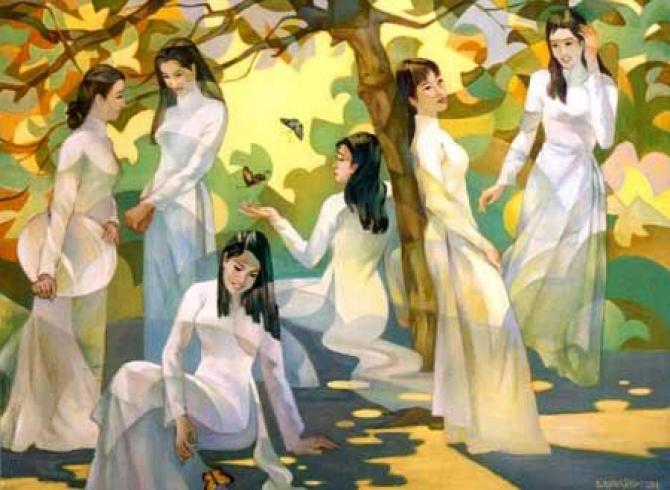Người Phụ Nữ Việt Nam Trong Tình Tự Văn Học Dân Gian - Đan Hà