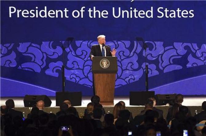 Bài phát biểu của Tổng thống Trump tại APEC