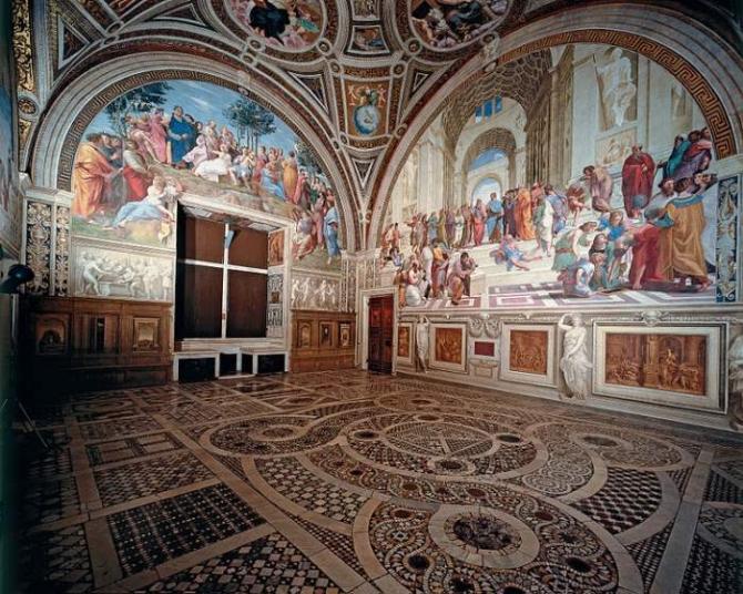 Tuyệt tác các căn phòng Raphael