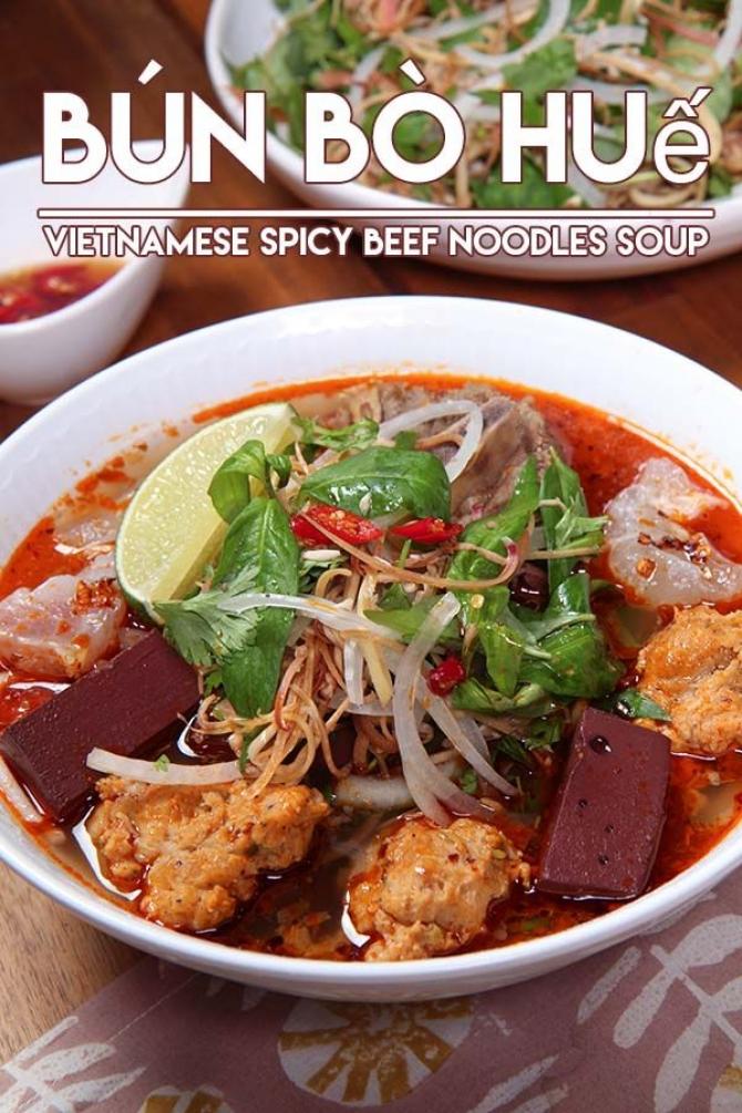 Bún Bò Huế- Bún Bò Bà Đào Đà Nẵng