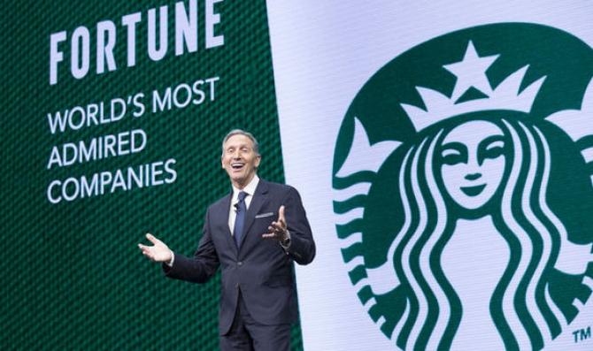 CEO - Cà Phê Starbucks xuất thân nghèo khó