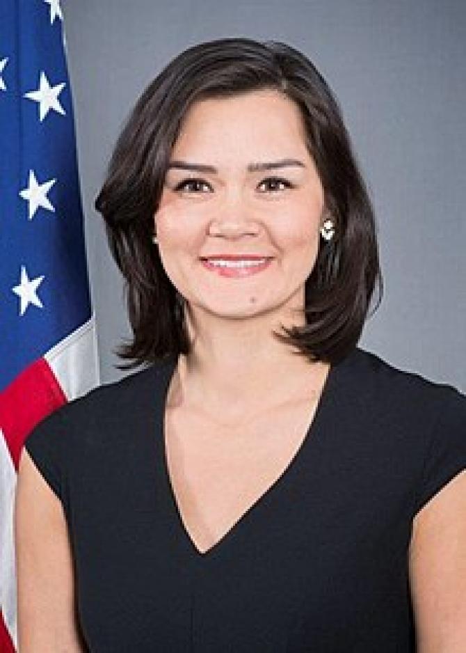 Michelle Giuda người trợ lý ngoại trưởng Mỹ gốc Việt