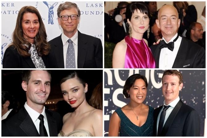 7 cặp đôi giàu có, quyền lực, lại vừa hạnh phúc